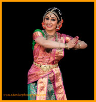 Bharatanatyam Dance. Shilpa Sethuraman. January 2013. Chennai, India