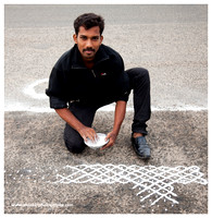 Madras Day Celebrations. Kolam and Music. August 22, 2015