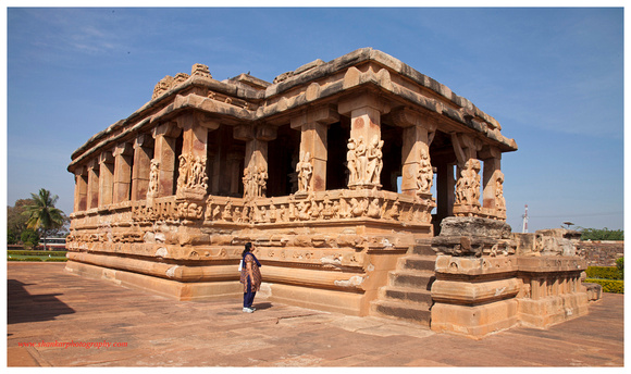 Aihole Durga Temple. December 2013